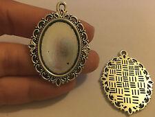 5 cornice portafoto ciondoli Argento tibetano antico perline ciondolo perline