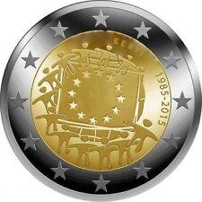 ESTONIA 2 EUROS 2015 - 30 AÑOS DE LA BANDERA DE EUROPA  - SIN CIRCULAR -
