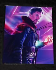 Benedict Cumberbatch SIGNED 8x10 PHOTO Avengers Infinity War Dr Strange + Proof