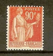 """FRANCE STAMP TIMBRE N° 285 """" TYPE PAIX 90c ROUGE CARMINE """" NEUF xx TTB H304"""