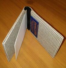 Vintage Pendleton Grey Green Blue Tweet Single Fold Card Wallet New Old Stock
