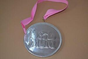 Milk Chocolate, Best Mum Medal with Ribbon 125mm Silver Medal