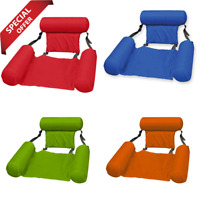 Inflatable Swimming Floating Chair Pool Seats Beach Water Bed Lounge Chairs Seat