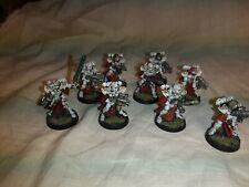warhammer WH40k adepta sororitas sisters squad x10, pro painted