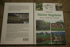 Fachbuch Dachbegrünung, Gründach, Bauanleitung, Dachdecker, Dachgarten, neu