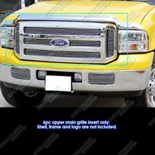Fits 2005-2007 Ford F-250/ F-350 SD/ Excursion Main Upper Billet Grille
