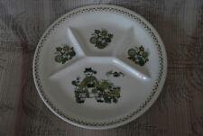 "Mid Century Turi Design Market Figgjo Norway Grill Plate Man 9 1/4"""