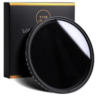 Tide Optics 82mm Variable ND (ND2 - ND400) Neutral Density Lens Filter