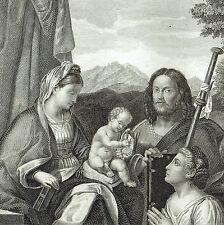 XX sec.   Vergine Madonna Gesù Bambino