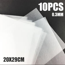 US 10Pcs Heat Shrink Paper Film Sheets DIY Jewelry Making Decor Tool Set 20x29cm