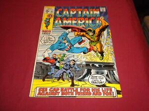 WA1 Captain America #127 marvel 1970 bronze age 7.5/vf- comic!