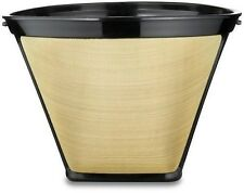 2 Pack Gold Tone #2 Permanent Cone Coffee Filter F08-LG02