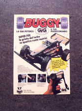 I020-Advertising Pubblicità-1987- BUGGY SUPER FOX , GIG