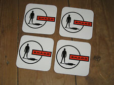SHADO Gerry Anderson UFO TV series COASTER Set