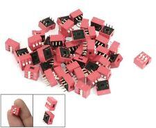 S803 - 10 Stück DIP Schalter 3-polig RM 2,54 Micro Codier Schiebeschalter Piano