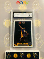 2003 Topps Kobe Bryant #36 Gold - 9 MINT GMA Graded Lakers Basketball Card