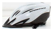 Fahrradhelm Silber/Hellgrau Größe 53-59 cm Gewicht 260 g SPEQ Sportivo