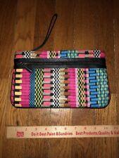 NEW Vera Bradley Genuine Leather Trim Mia Wristlet! Cha Cha! WOW!
