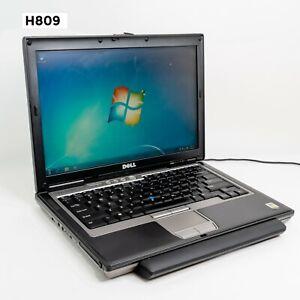 """DELL LATITUDE D620 14"""" LAPTOP CORE DUO T2400 4GB 320GB WIN 7 PRO H809"""