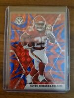 2020 Mosaic Football Clyde Edwards-Helaire Chiefs Reactive Blue Prizm RC Rookie!