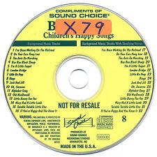 SOUND CHOICE KARAOKE PROMO DISC #8- B-FLAT THE CAT CD+G - OUT OF PRINT!!!