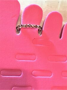 Purple Rhinestone SP Brass Stretch Toe Ring #922