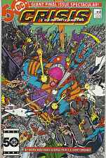 Crisis On Infinite Earths 1985 Dc Comics Final Issue March #12 Fine