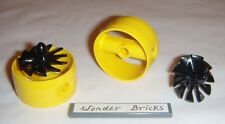 Lego 10-Blade Rotor and Cylinder Yellow 7930 Fan Submarine Propeller