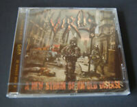 VIRUS A new strain of an old disease CD Comeback-EP of the UK Cult-Thrashers!