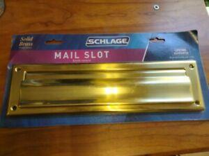 SCHLAGE MAIL SLOT 044074678642