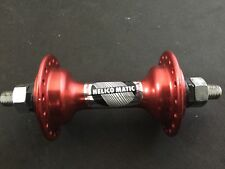 Old school bmx maillard helico matic 36h unsealed orphan hub