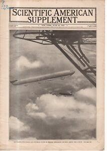 1919 Scientific American Supp June 28  - Dirigibles; Earthquakes; Index; Sitka