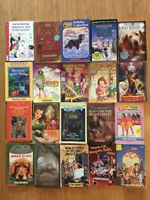 Lot 20 Kids Chapter Books Scholastic classic stories dogs dragon Puffin Disney