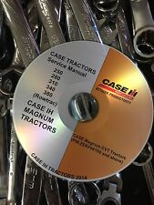 Case Magnum 250 280 310 340 380 Tractor (Rowtrac) Service Repair Shop Manual CD