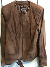 Bradley by Bradley Bayou Suede Leather Jacket Size M Medium