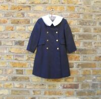 Burberry Children Trench Mac Double Breasted Wool Coat Size 3-4 years old Years