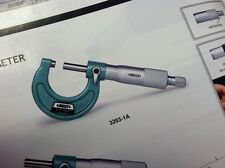 """Outside Micrometer 0-1""""  3203-1A Insize"""