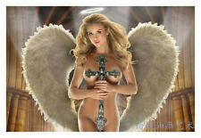 Art Print Oil Painting on Canvas Wall Art,Beautiful angel,