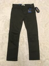 NWT Levi's Pants 511 Slim Fit Slightly Tapered Forest Night Green Boys 16 28*28