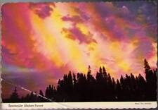 (wec) Postcard: Spectacular Alaskan Sunset