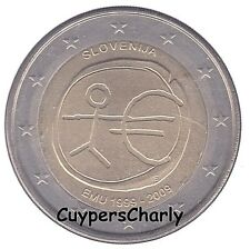 Slovenie 2009 2€ UNC 10 jaar Euro EMU