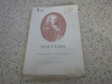 1957.Catalogue vente Jacques Lambert sur Voltaire.