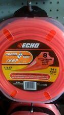 "ECHO 306095053 .095"" Cross Fire Trimmer Line 1/2 LB Donut"