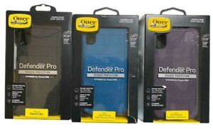"""Otterbox Defender Pro Case + Holster for iPhone XS MAX (6.5"""") Black Or Purple"""