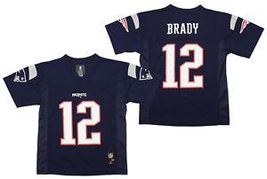 Outerstuff NFL Football Boys New England Patriots Tom Brady Mid-Tier Jersey