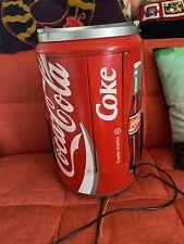More details for vintage retro rare akura coca cola can stereo hi-fi cd tape player radio