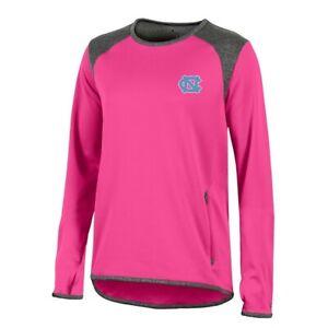 UNC Tar Heels NCAA Champion Women's (Pink) Athletic Tech Perf. Crew