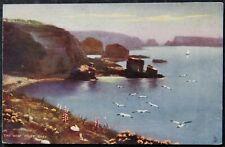 The West Coast Sark Early 1900's Tuck Oilette Unused Postcard Channel Islands CI