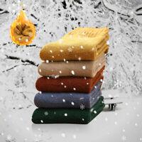 5 paires femmes dames hiver chaude laine chaussette décontractée nordique
