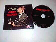 "CD  Johnny Hallyday  ""L'idole""  Digipack"